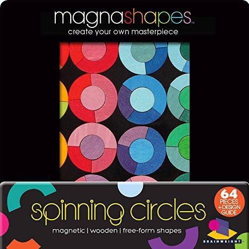 Magna Shapes Spinning Circles - Magic Shapes