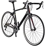 Schwinn Fastback Carbon 700C Performance Road Bike, 54cm/Large Frame, Matte Black