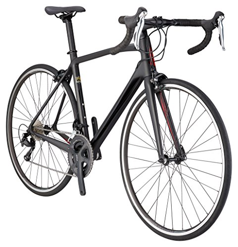 Schwinn Fastback Carbon Road Bike, 51-Centimeter Frame, Matte Black