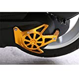 Red Aluminium Motorcycle Engine Guard Slider Case