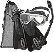 Cressi Rocks Kids Combo, Kids Combo (Mask and Snorkel) for Snorkeling and Swimming - Cressi: Quality Since 194