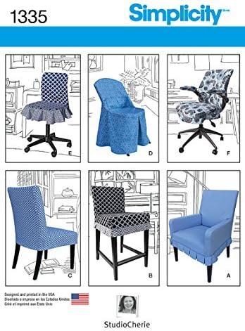 Simplicity Creative McCall pattern Company 1335 para silla para ...