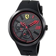 Scuderia Ferrari Men's 'FXX' Quartz Resin and Silicone Casual Watch, Color:Black (Model: 0830394)