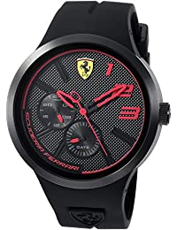 Ferrari Men's 'FXX' Quartz Resin and Silicone Casual Watch, Color:Black (Model: 0830394)