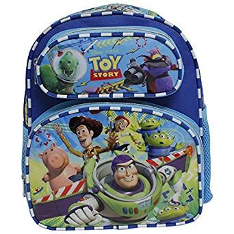 5f2e384e927 Image Unavailable. Image not available for. Color  Disney Toy Story Woody   Buzz  Lightyear Blue Small 12 quot  Backpack. Ruz