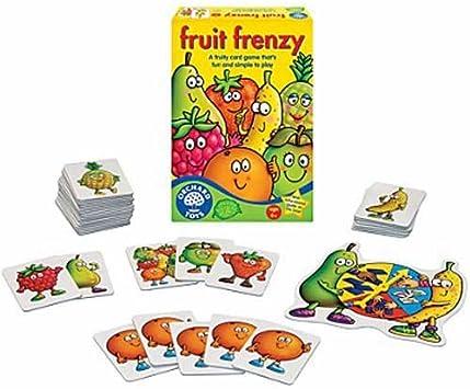 Orchard Toys Fruit Frenzy - Juego de Cartas (en inglés): Amazon.es: Juguetes y juegos