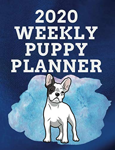 2020 WEEKLY PUPPY PLANNER: 8.5