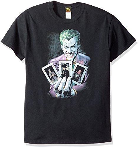 DC Comics Men's Batman Joker 3 of a Kind T-Shirt at Gotham City Store