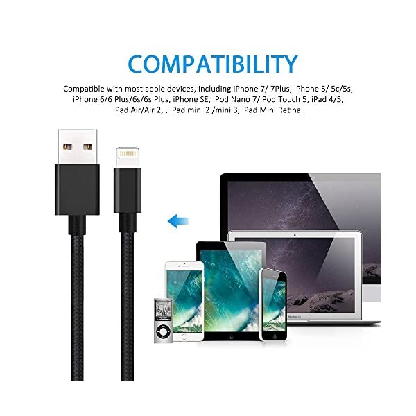 Verson Lightning Cable For IPhone Cable For IPhone Charger For IPhone 88 Plus77 Plus6s6s Plus66 Plus