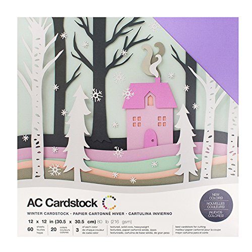 American Crafts Carstock Variety Pack - Winter