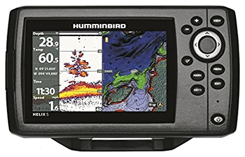 Humminbird 410210-1 HELIX 5 CHIRP GPS G2 Fish finder - Marine Electronics