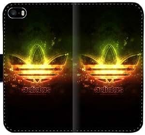 Mejor Logo Adidas caja del cuero de Windows Gue J4G8B Funda iPhone 4 4S Funda 131d8P Hex fundas caso del tirón del teléfono