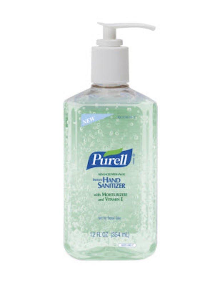 Purell Instant Hand Sanitizer Aloe 12oz Pump -12 per case