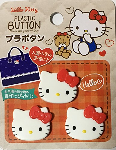 hello kitty buttons for sewing - 4