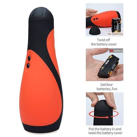 Erjolyas- Mini Dispositivo de Masaje de Vibración Masculino Juguetes ...