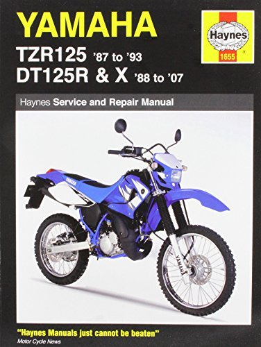 By Haynes Yamaha TZR125 87 to 93 and DT125R 88 to 07 Paperback