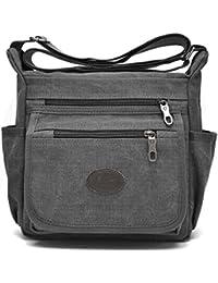 Vintage Retro Canvas Messenger Bag Crossbody Shoulder Bag