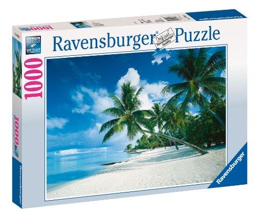 Ravensburger - Puzzle - Océan Pacifique, Bora Bora - 1000 Pièces