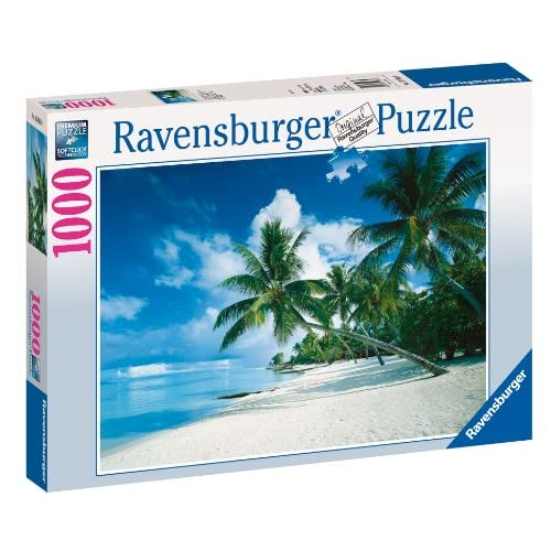Ravensburger Puzzle - Océan Pacifique, Bora Bora - 1000 Pièces