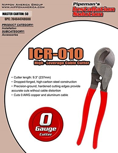 (Heavy Duty Cable Wire Cutter Electrical Tool ICR-010 Copper or Alum)