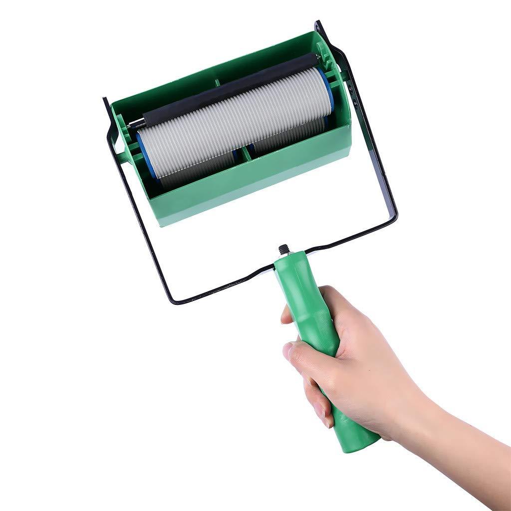 Deux tons CUEYU Simple//double machine de peinture de peinture de d/écoration de couleur pour loutil de brosse de rouleau de mur de 5 pouces