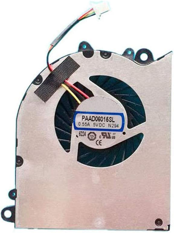 Laptop GPU Cooling Fan for MSI GP60 GS60 2PC 2PE 2PL 2QD 6QE 6QC PAAD06015SL N294 0.55A 5VDC