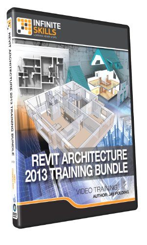 Discounted Revit Architecture 2013 Training Bundle - Video 18 Hours+ by Infiniteskills