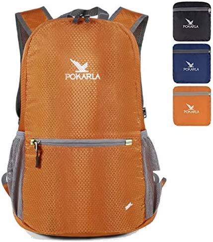 Pokarla 35L Foldable Durable Backpack Travel Hiking Daypack Ultra Lightweight Pa