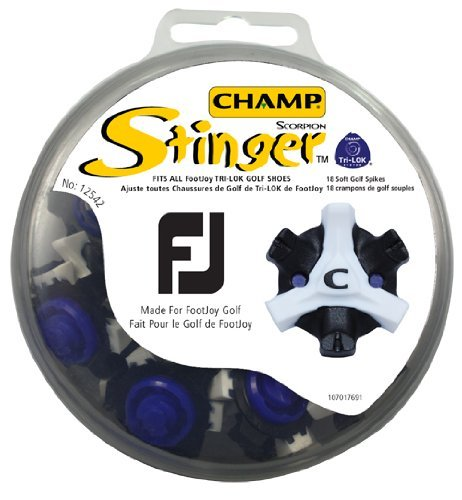 Shape Up, Training Champ Scorpion Stinger Tri-Lok for FootJoy Golf Shoes Fitness, Sport, Exercise