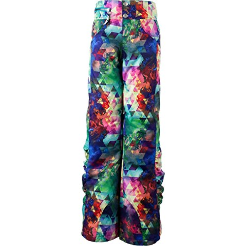 Obermeyer Kids Girl's Jessi Pants (Little Kids/Big Kids) Fractal Floral X-Small by Obermeyer Kids