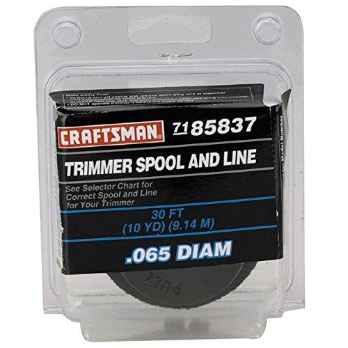 Craftsman Spool - Craftsman 85837 Line Trimmer Spool Assembly Genuine Original Equipment Manufacturer (OEM) part for Craftsman