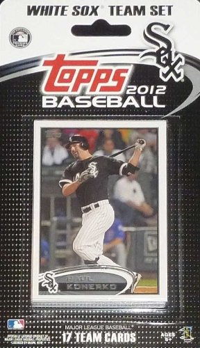 2012 Topps Chicago White Sox Factory Sealed Special Edition 17 Card Team Set
