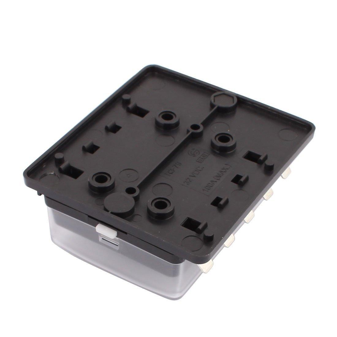 eDealMax DC32V 100A (max.) Bornes de voiture Circuit 10-Way Bloc fusible à lame pour les petites R3-79-10 Insérer