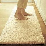 foot Pad/Bathroom water-absorbing anti-skidding mat/Long kitchen mats/Living room doormat-F 40x60cm(16x24inch)