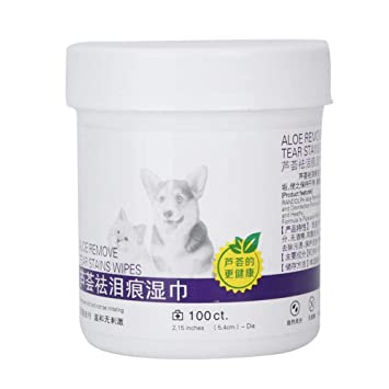 100pcs Pet Wipes for Dogs and Cats, Grooming Puppy Wipes Pet Eye Wet