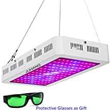 JUHANG 1200W Full Spectrum LED Grow Light for Indoor Plants Veg and Flower Garden Greenhouse Hydroponic Plant Grow Lights with Zener Protector(10W*120)
