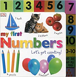 d2e0998f3b7 Buy Numbers (My First Board Book) Book Online at Low Prices in India ...
