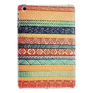 RayShop - Special Design Stripe Pattern Hard Case for iPad mini