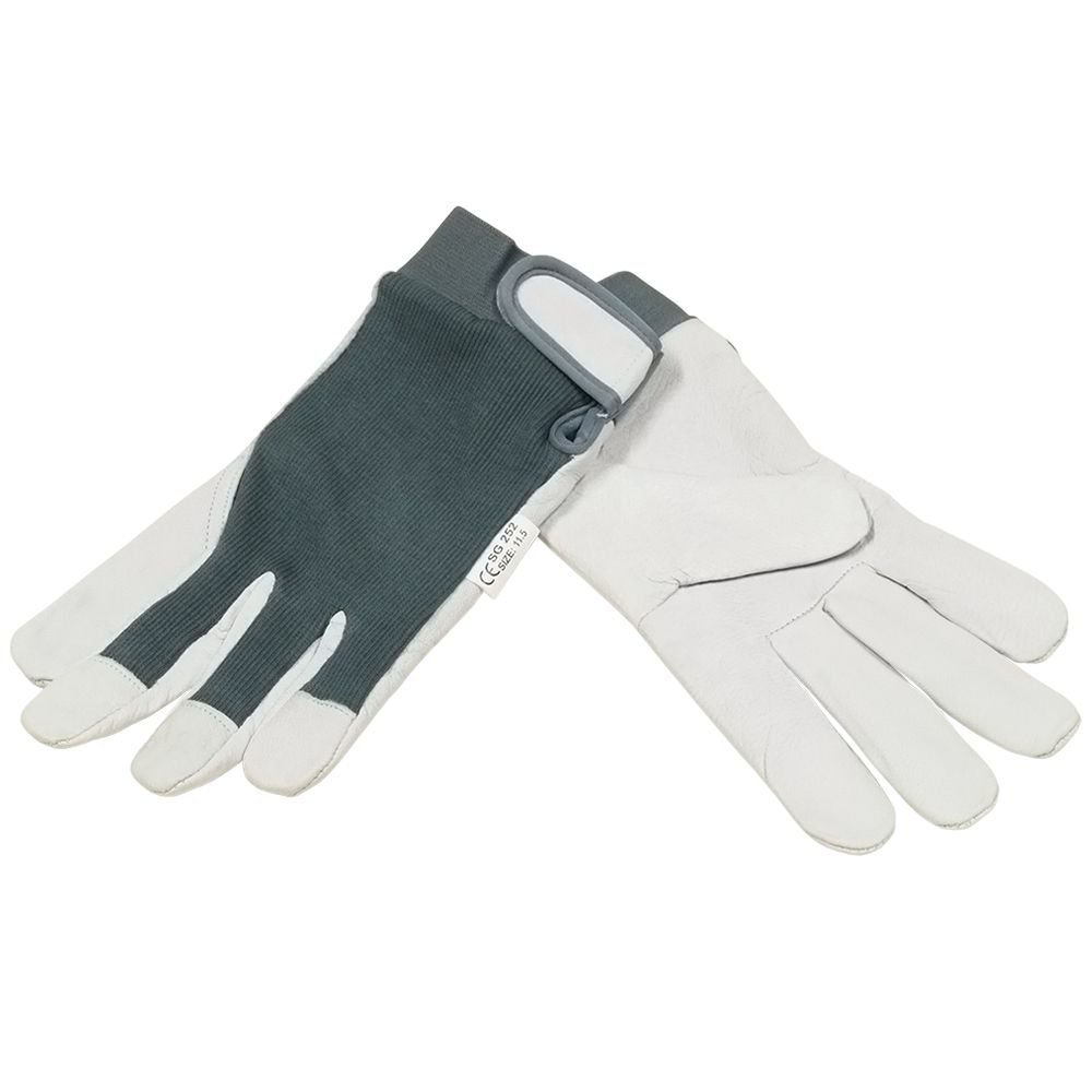 ling Gloves with fleece lining on palm leather nr. 11