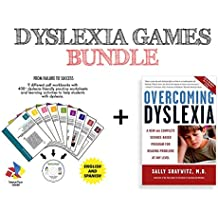 Overcoming Dyslexia by Sally Shaywitz + Dyslexia Brain Games CD | EASY BUNDLE | A New and Complete Science-Based...