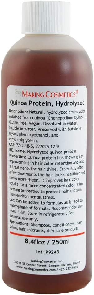 Quinoa Proteína, hidrolizado, 60 ml: Amazon.es: Belleza