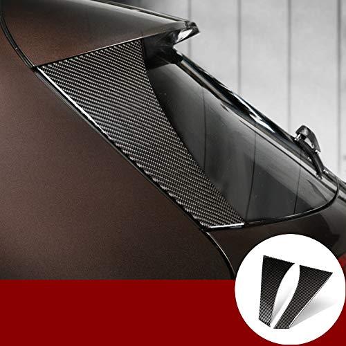 Karbonfaser Heckscheibe Fensters/äule Rahmen Zierleisten 2Stk