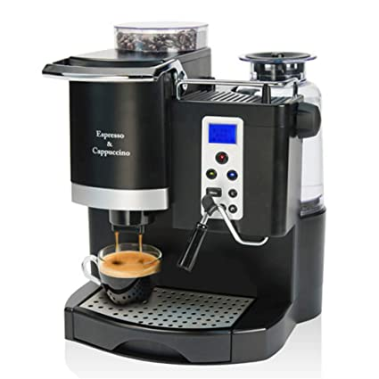 YSCCSY Máquina De Café Espresso Automática 20BAR Maker con Molienda De Frijol Y Fabricante De Espuma