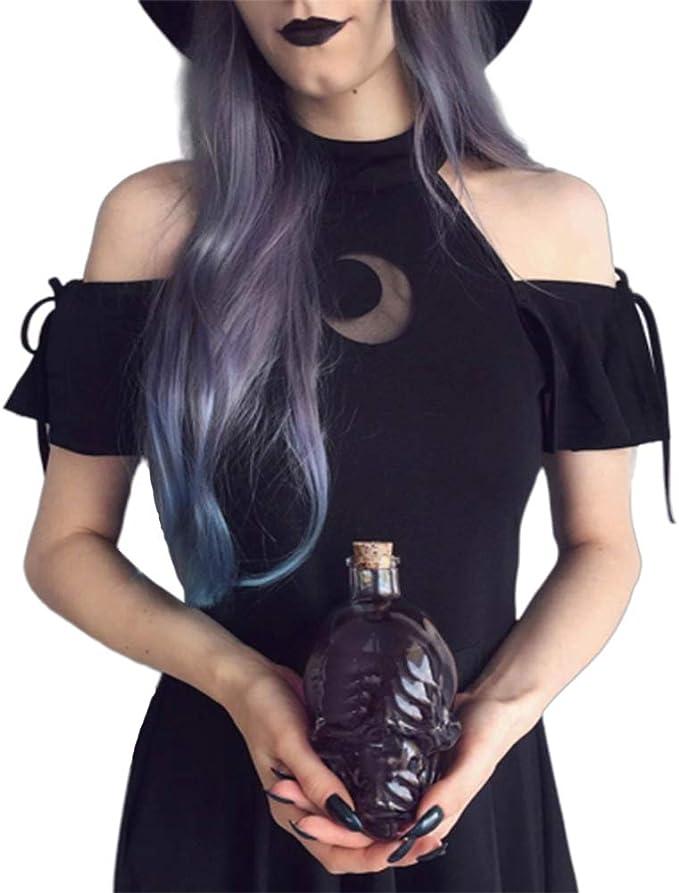 BEESCLOVER - Disfraz de Media Luna para Mujer con Cordones, Color ...