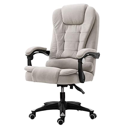 Big and Tall Executive Chair Modern Comfortable Computer Chairs Home Office Game Chair Linen Fabric Reclining  sc 1 st  Amazon.com & Amazon.com: Big and Tall Executive Chair Modern Comfortable Computer ...