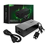 Sliq Gaming Official Xbox One Power Supply with Power Cable - Includes 1-Year Warranty (Black)