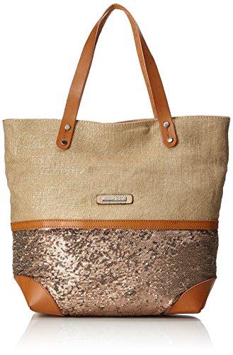 Women's sand Joana Tote Shopper Bulaggi Brown 1xdRfdn