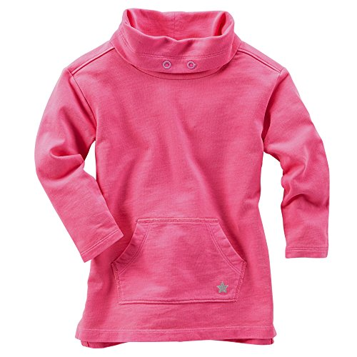 Price comparison product image Oshkosh Girls L / s Neon Funnel-neck French Terry Tunic; Pink (9 Months)