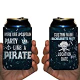 Custom Bachelorette Party Can Cooler- Work Like A Captain, Party Like A Pirate (50)