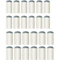Paquete de 24 puntas de billar Tee Vee para taco de billar, sin necesidad de pegamento ni herramientas